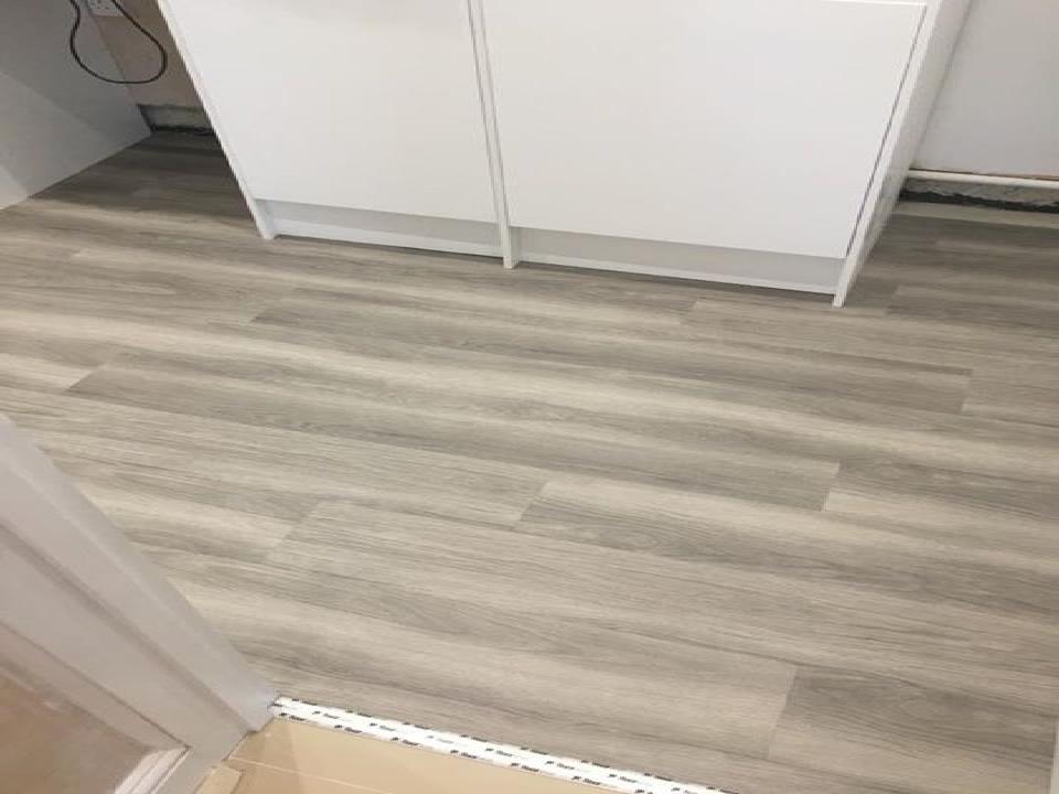 wood floor fitting