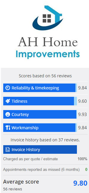a h home improvements ratings
