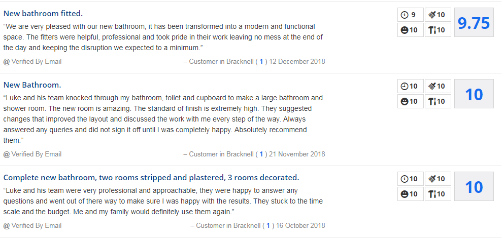 bathrrom fitter reviews
